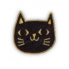 Black Cat Felt Patch