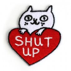 Shut Up Cat Patch