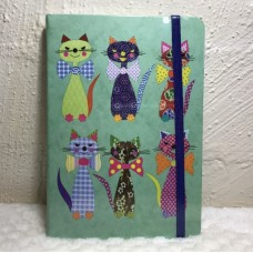 Cats in Bow Ties Hardcover A5 Journal