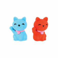 Eraser Set - Lucky Cat