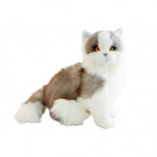 Norwegian Grey Plush Cat