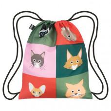 Cats Drawstring Backpack