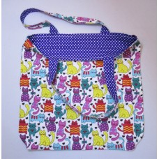 Colourful Cat Tote Bag