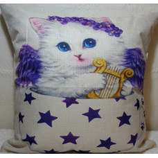Angel Cat Cushion