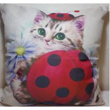 Lady Beetle Baby Cushion