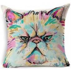 Persian Colourful Grump Cushion