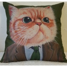 Business Cat Cushion