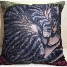 Sleeping Tabby Cushion