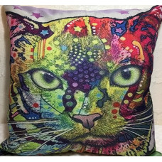 Technicolour Cats Cushion #8