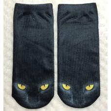 Black Cat Socks