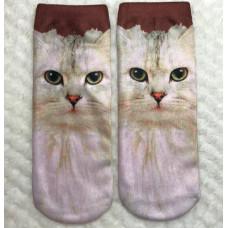 Grumpy Persian Cat Socks