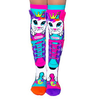 Madmia Meow Knee High Socks (Age 6 - Adult)