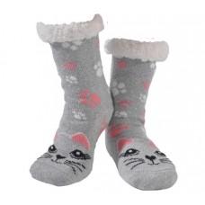 Kitty Cat Grey Ladies Nuzzles