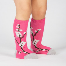 Toddle Kitty Willow Knee High Socks
