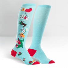 Kids Jingle Cats Knee High Socks