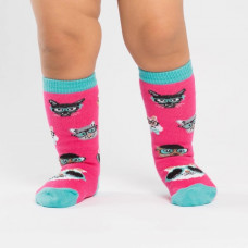 Toddler Smarty Cats Knee High Socks