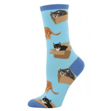Cats in Boxes Socks